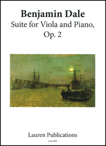 Suite for Viola and Piano, Op. 2
