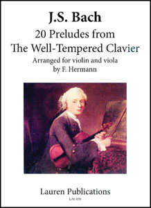 20 Preludes from the Well Tempered Clavier