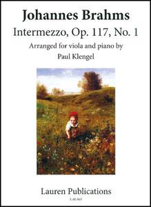Intermezzo, Op. 117, No. 1