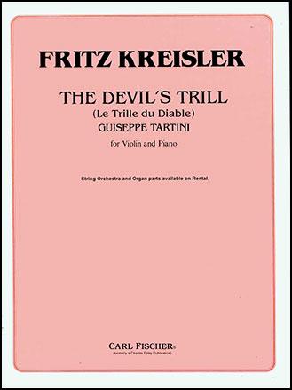 Devil's Trill Sonata for Violin and Piano