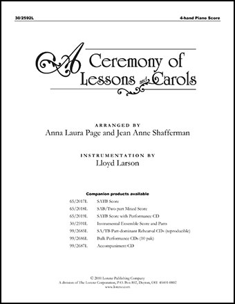 A Ceremony of Lessons and Carols Thumbnail