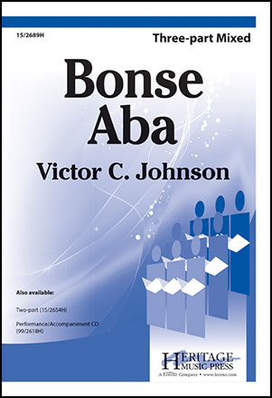 Bonse Aba choral sheet music cover