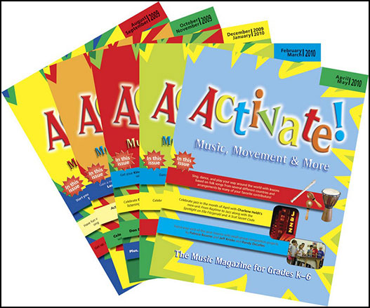 Activate Magazine Complete Set Volume 4