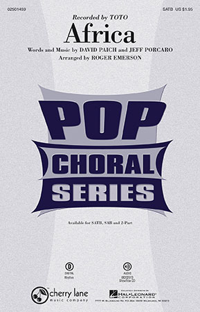 Africa choral sheet music cover