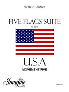 U.S.A. five Flags Suite
