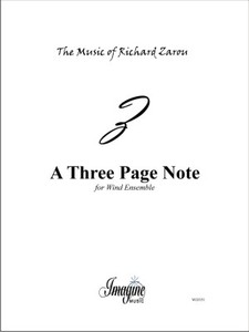 Three Page Note