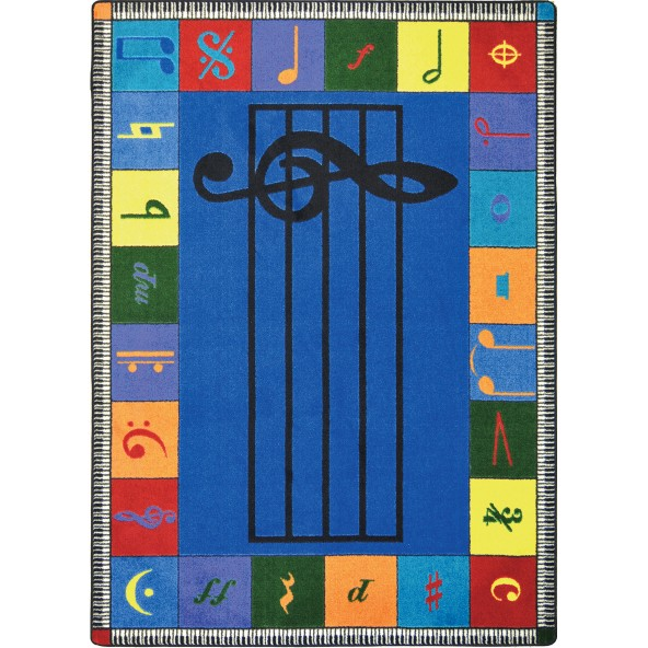 Note Worthy - Musical Activity Rugs
