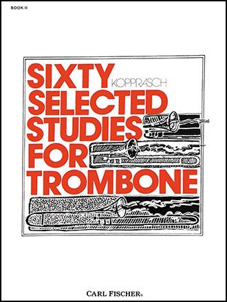 60 Studies-Trombone-Book No. 2