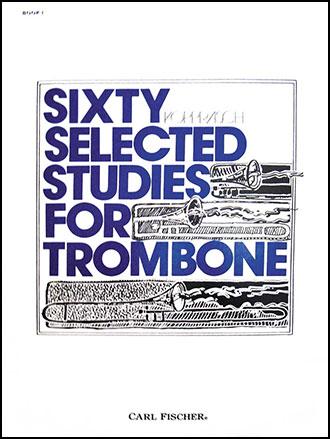 60 Studies-Trombone-Book No. 1