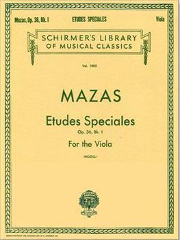 Etudes Speciales for Viola, Op. 36