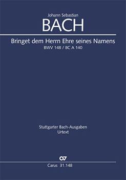 Cantata No. 148 Cover