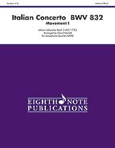 Italian Concerto, BWV. 832, No. 1