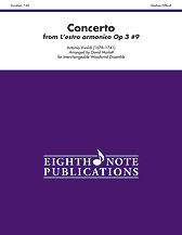 Concerto from L'estro Armonico Op. 3 No. 9