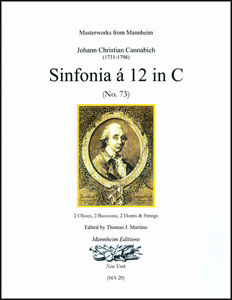 Sinfonia a 12 in C, No. 73