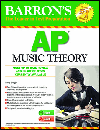 Barron's AP Music Theory classroom sheet music cover