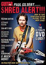 Guitar World Paul Gilbert Presents Shred Alert