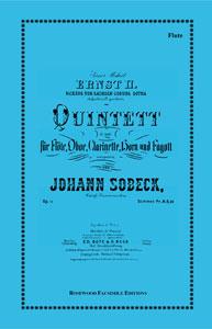 Wind Quintet in G Minor Op. 14