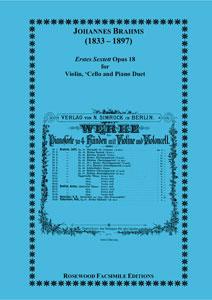 Erstes Sextett Op. 18