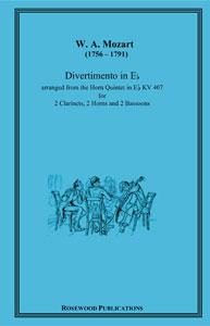 Divertimento in E Flat from Horn Quintet Kv407