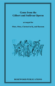 Gems from Gilbert and Sullivan