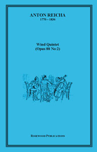 Wind Quintet Op. 88 No. 2