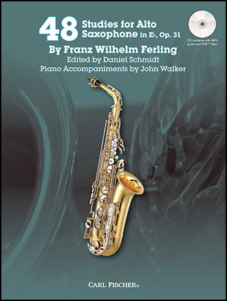 Musical Instruments & Gear Wind & Woodwinds New Concert Studies For Saxophone Sax Sheet Music Book With Cd