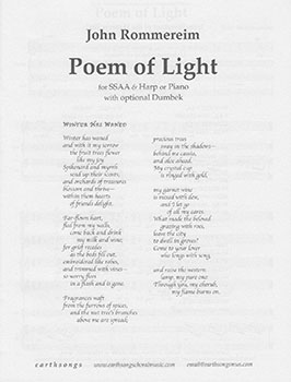 Poem of Light