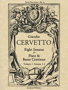 Eight Solos for German Flute and Basso Continuo, Vol. 1