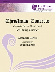 Christmas Concerto for String Quartet