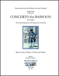Concerto for Bassoon in F Major