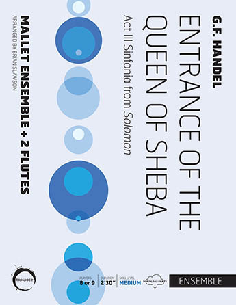 Entrance of the Queen of Sheba