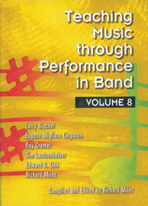 Teaching Music Through Performance in Band, Vol. 8