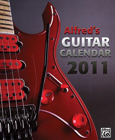 Alfreds Guitar Calendar 2011