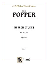 15 Etudes for Cello Op. No. 76