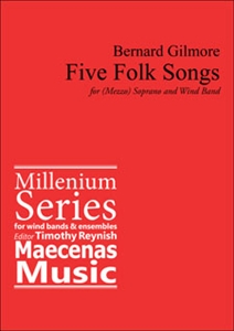 Five Folksongs for Soprano and Band