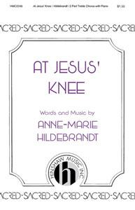 At Jesus Knee