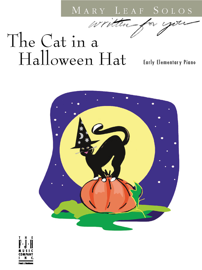 Cat in a Halloween Hat
