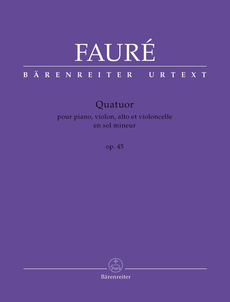 Quartet in G Minor, Op. 45