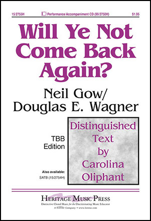 Will Ye Not Come Back Again?