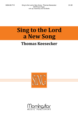 Sing to the Lord a New Song (Instrumental Parts& | J W