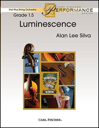 Luminescence choral sheet music cover