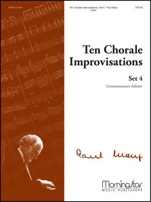 Ten Chorale Improvisations Set #4