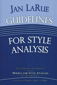 Guidelines for Style Analysis Cover