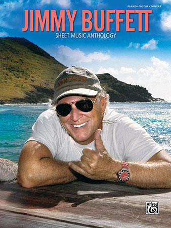 Jimmy Buffett: Sheet Music Anthology piano sheet music cover