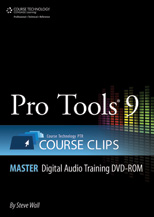 Pro Tools No. 9 Course Clips Master First Edition