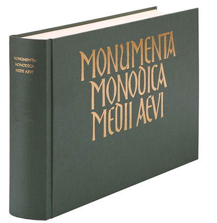 Monumenta Monodica Medii Aevi, Vol. vi