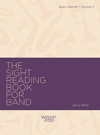 The Sight-Reading Book for Band, Vol. 3  Cover