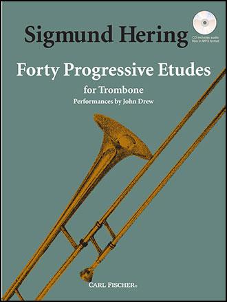 40 Progressive Etudes for Trombone