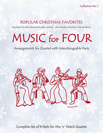 Music for Four: Popular Christmas Favorites