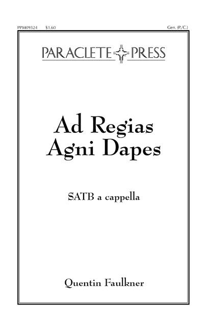 Ad Regias Agni Dapes